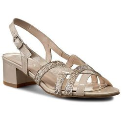 Sandały SAGAN - 2070 Caprii Lak. Jaszczurka