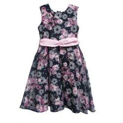 cc226a8167 Blue Seven sukienka dziewczęca w kwiaty 146 czarna - BEZPŁATNY ODBIÓR   WROCŁAW!