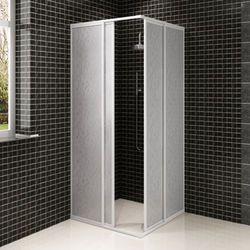 vidaXL Kabina prysznicowa ?cienna, parawan (80 x 80 cm) Darmowa wysy?ka i zwroty