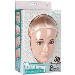 Dmuchana lalka miłości blondynka Mercy Koval twarz 3D włosy 120186