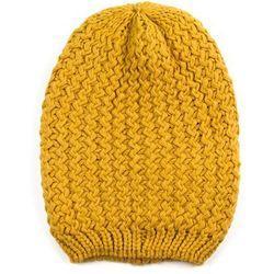 Czapka smerfastyczna yellow - YELLOW