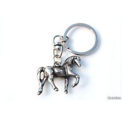 BRELOCZEK BŁYSZCZĄCY KONIK do kluczy retro koń zwierzęta