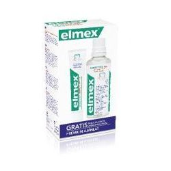 Elmex Zestaw w kasecie Sensitive (plyn do plukania ust 400ml + pasta do zebow 75ml)
