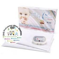 Monitor oddechu Baby Control Digital BC-220i dla bliźniaków Biała