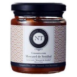 Portugalska konfitura Nobre Terra z marchwi z dodatkiem wina muszkat z Setúbal 250 ml