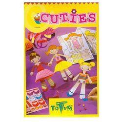 Totum, Cuttes, ubieranie lalek, Zestaw