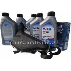 Filtr oraz olej skrzyni biegów Mobil ATF320 Pontiac Montana