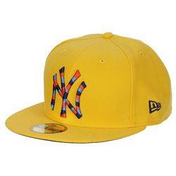 czapka z daszkiem New Era 59F Mozaika MLB New York Yankees - A Gold/Light Navy