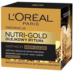 LOREAL Paris 50ml Nutri Gold Olejkowy Rytuał Odżywczy krem-olejek skór
