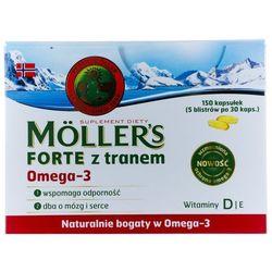 MOLLER'S FORTE z tranem omega-3 30 kapsułek