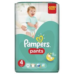 Pampers Active Baby Pants Maxi - Jumbo Pack (52 szt.)