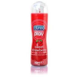 Durex Play smakowy żel intymny nawilżający Sweet Strawberry Lubricant 50 ml