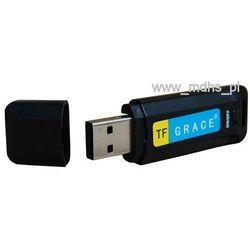 Mikro rejestrator dźwięku, dyktafon, Pendrive , slot kart microSD, karta 4 GB