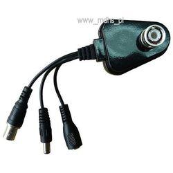 Miniaturowy rejestrator AUDIO-VIDEO na karty micro SD, 1 kanał VIDEO, wbudowany mikrofon, DETEKCJA RUCHU, AC-4633