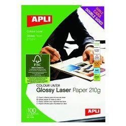 Papier fotograficzny APLI A4 błyszczący 160g/m2 100ark.