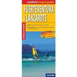 Fuerteventura i Lanzarote 1:150 000