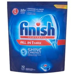 FINISH 72szt Powerball All in 1 Max Shine&Protect Tabletki do myci
