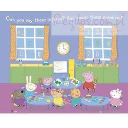 Świnka Peppa Przedszkole - plakat