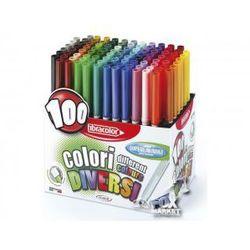 Flamastry pisaki mazaki FIBRACOLOR aż 100 kolorów!