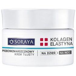 Soraya Kolagen + Elastyna, krem tłusty z witaminami A i E, 50 ml
