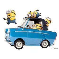 Naklejki Minionki Samochód 50X70 Cm