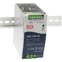Zasilacz na szynę DIN Mean Well SDR-240-24, 10 A, 240 W, 1 x