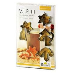 Foremki do wycinania ciastek VIP III Birkmann 4 szt.