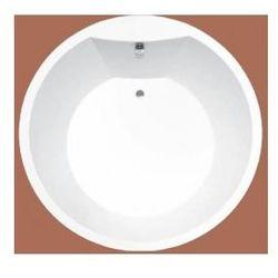 Wanna okrągła Ruben Solar Ø 175 cm, biała, system hydromasażu Kenzo Solar175 + Kenzo