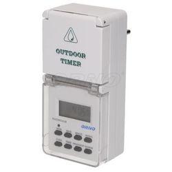 Zewnętrzny elektroniczny programator czasowy IP44 ORNO