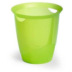 Kosz na śmieci Durable Trend 16L zielony-przezroczysty 1701710017