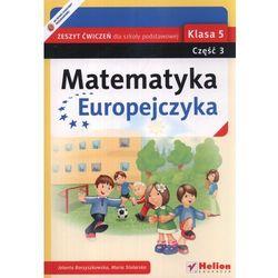 Matematyka Europejczyka 5 Zeszyt ćwiczeń część 3 (opr. miękka)
