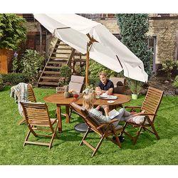 Rozkładany stół ogrodowy