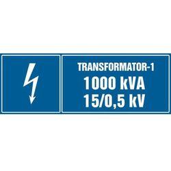 Transformator-1, 1000kVA, 15/0,5 kV