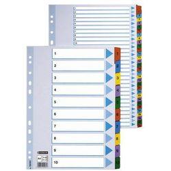 Przekladki numeryczne Esselte Mylar A4/1-5, kolor 100160