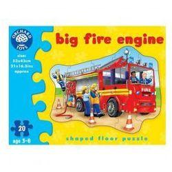 Wóz strażacki puzzle