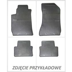 Dywaniki gumowe czarne z kompletem stoperów - Ford Kuga (I) 2008-2012