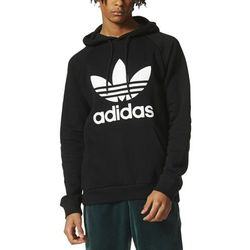 adidas Originals Outline Pullover Hoodie In Green DH5780 Green
