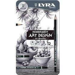Zestaw ołówków LYRA Rembrandt 12 sztuk