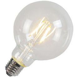 Żarówka Filament LED G95 4W 2700K przezroczysta