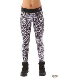 spodnie damskie (legginsy) IRON FIST - Snow Leopard - White