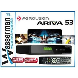 Ferguson Tuner TV Ferguson Ariva 53 (DVB-S,DVB-S2) - Ariva 53 Darmowy odbiór w 19 miastach!