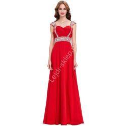 Czerwona długa sukienka, sukienki wieczorowe | czerwone suknie wieczorowe