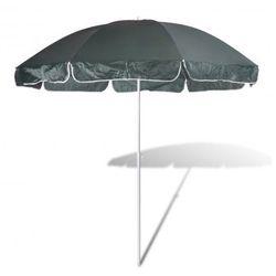 Parasol plażowy, zielony. Zapisz się do naszego Newslettera i odbierz voucher 20 PLN na zakupy w VidaXL!