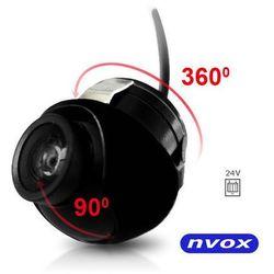 NVOX CM360 Samochodowa kamera cofania obrotowa o 360 stopni 24V