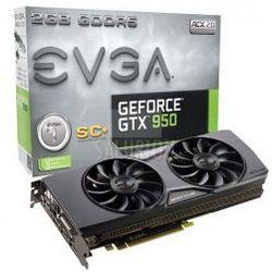 EVGA GeForce GTX 950 2GB SC+