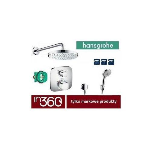 Hansgrohe Ecostat E Bateria Zestaw Prysznicowy Podtynkowy