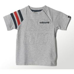 Koszulka adidas ORIGINALS TD Fitted Tee Kids S14393