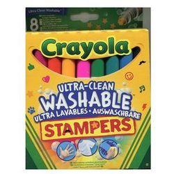 Crayola Flamastry ministempelki 8 sztuk