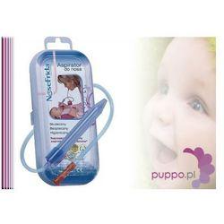 FRIDA Aspirator do nosa dla niemowląt + 4 filtry