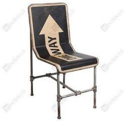 Metalowe Krzesło Belldeco Lotf One Way